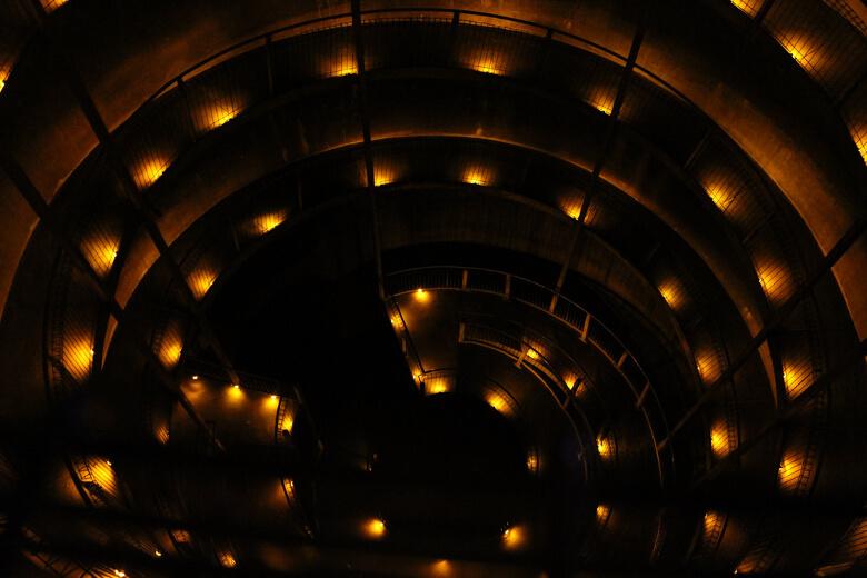 Spiralenförmiger Eingang der Ruakuri Cave