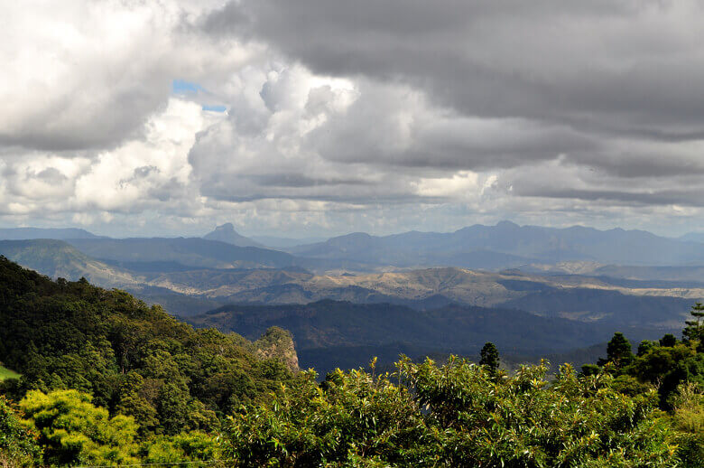 Aussicht im Lamington National Park