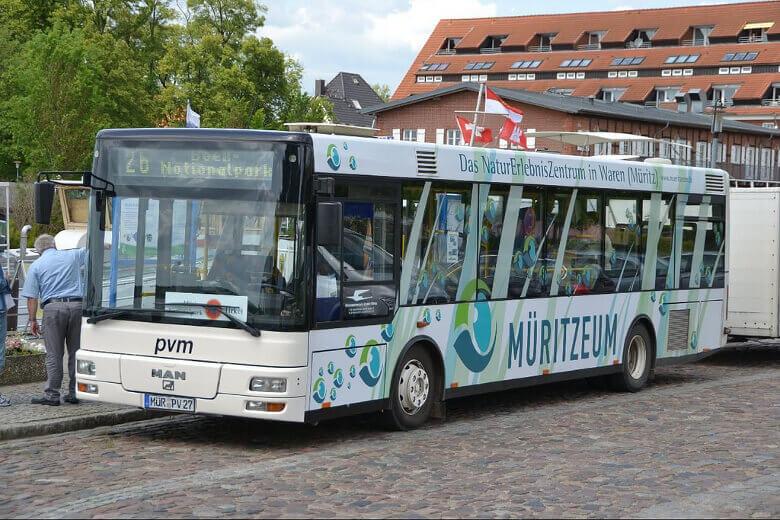 Müritz Nationalpark-Bus