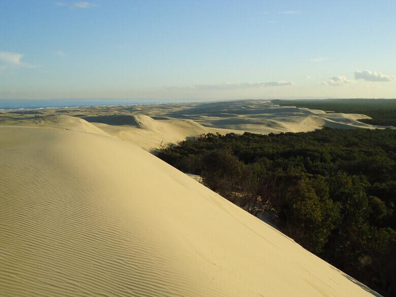 Sanddünen von Stockton