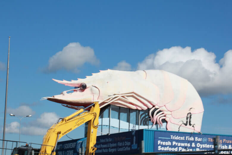 Ballina - The Big Prawn Garnele