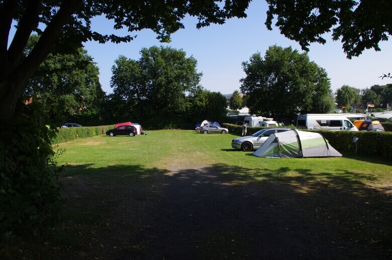 Campingplatz Am Strande mit Zeltplätzen