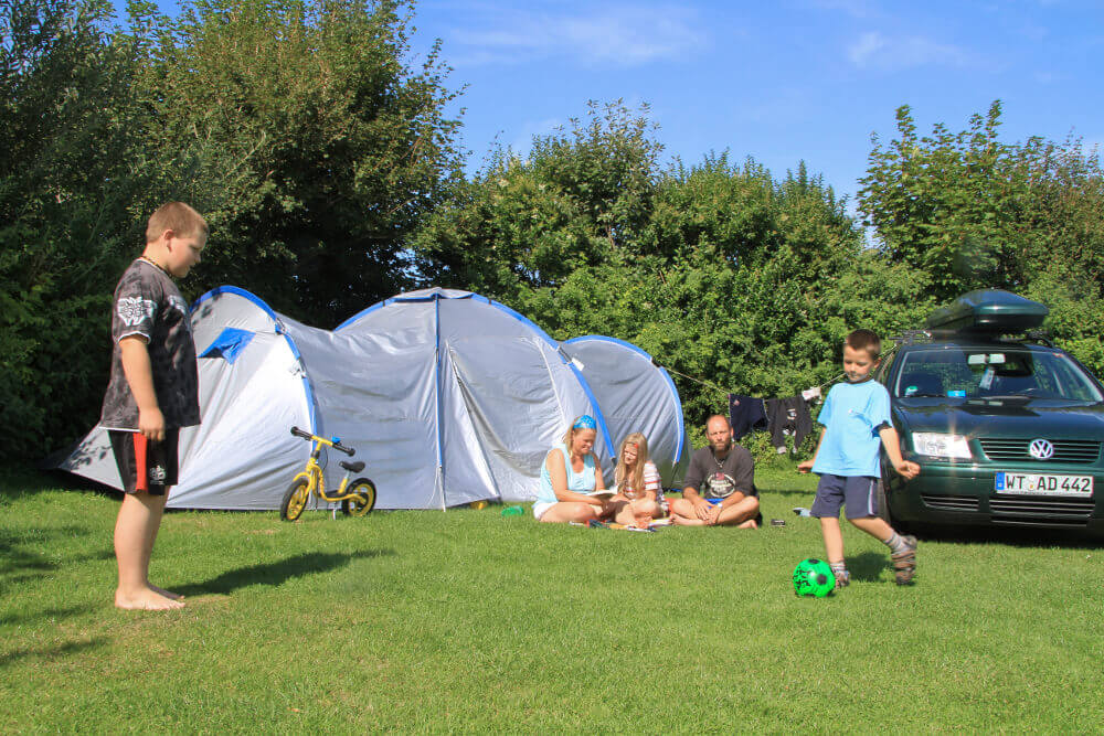 Zeltwiese Nordsee-Camp