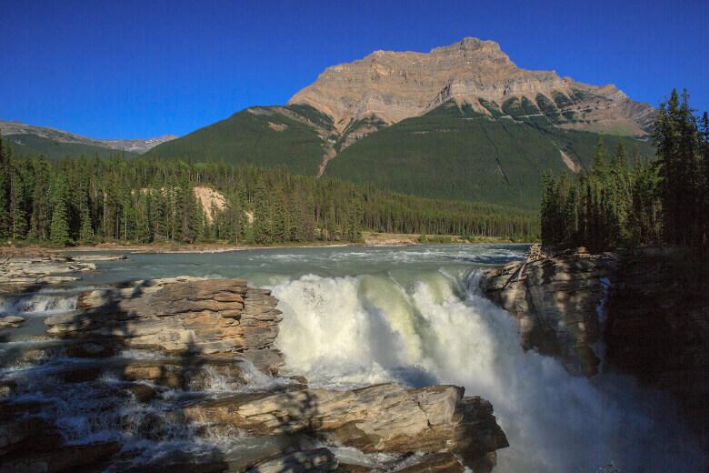 Athabasca Falls kurz vor Jasper