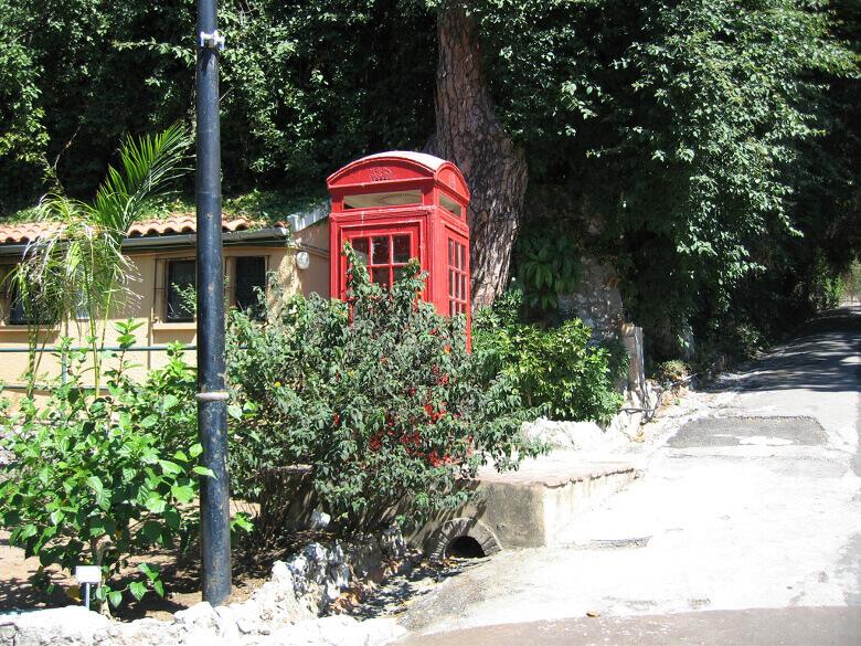Englische Telefonzelle in Gibraltar