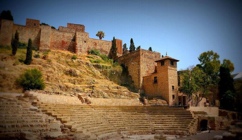 Römisches Theater und Alcazaba in Málaga