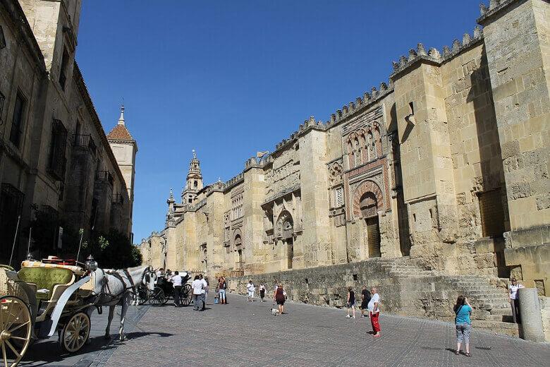 Fassade der Mezquita von Córdoba