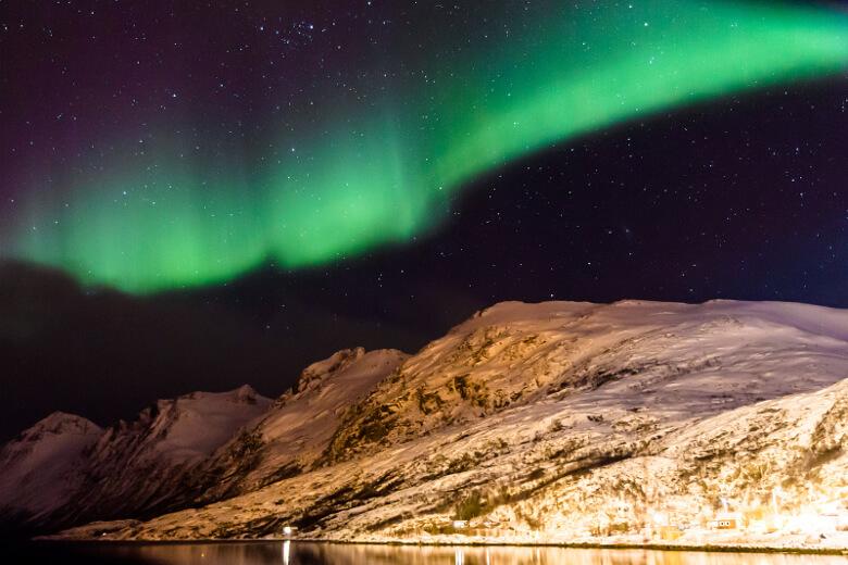 Polarlichter in Tromsø