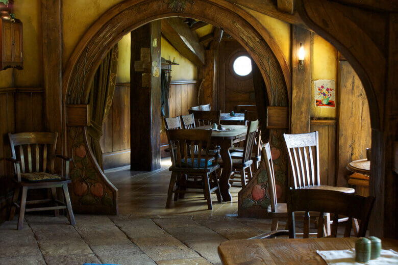 Das Hobbit-Gasthaus Green Dragon Inn