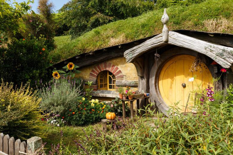 Hobbit-Höhle bei Matamata