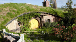 Das Filmdorf Hobbiton