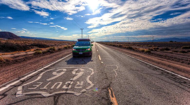 Jucy Camper auf der Route 66
