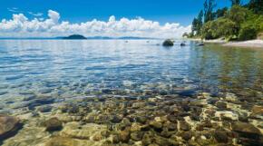 Der größte See Neuseelands - Lake Taupo