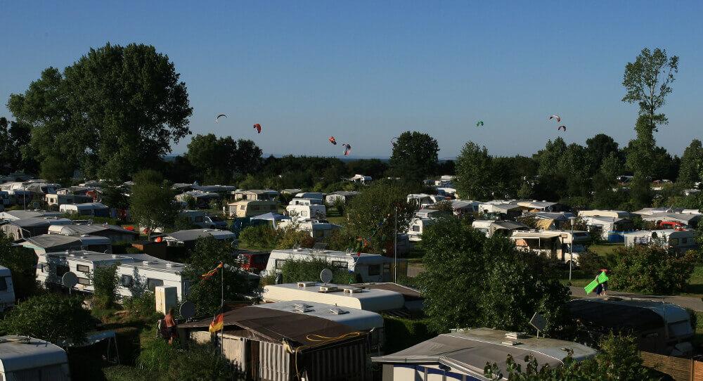 Campingplatz Loissin Wohnmobil- und Wohnwagen-Stellplätze