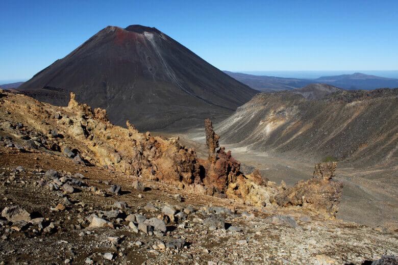Mount Ngauruhoe im Tongariro National Park