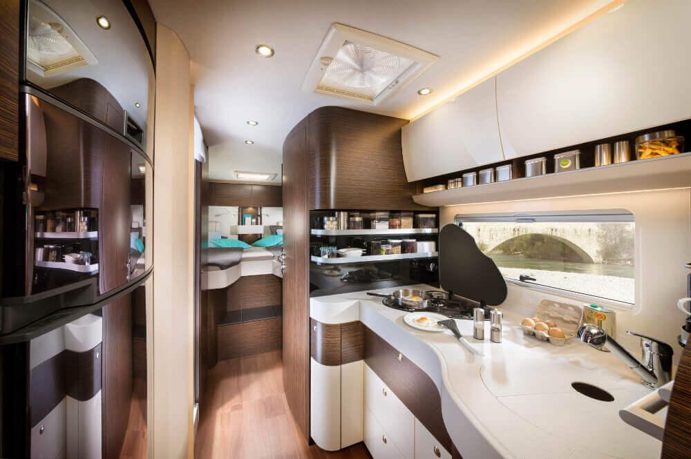 Küchenbereich im Concorde Credo