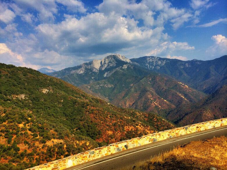 Herbstliche Farben im Sequoia National Park