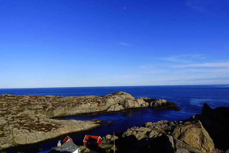 Aussicht am Kap von Lindesnes