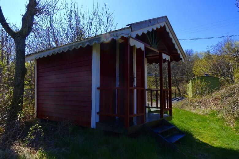 Kleine Hütte am Campingplatz Lindesnes Camping og Hytteutleie