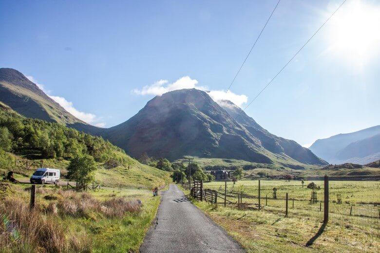 Wildcampen in den Highlands