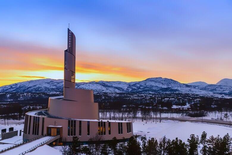 Nordlicht-Observatorium in Alta, Nordnorwegen