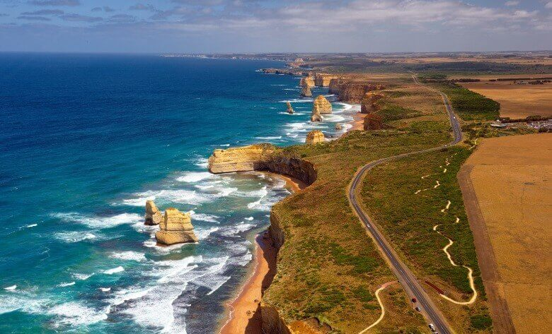 Great Ocean Road und Twelve Apostels in Australien