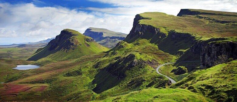 Panoramastraße durch die Highlands von Schottland