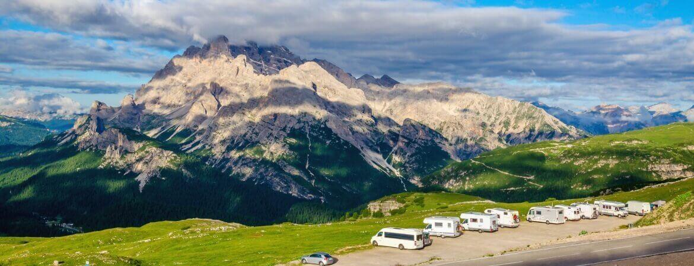 Traumhafter Wohnmobil-Stellplatz in den italienischen Dolomiten