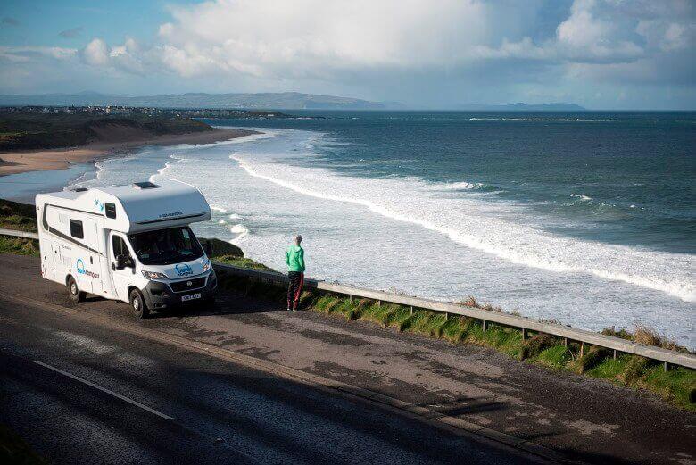 Mit dem Wohnmobil von Bunk Campers in Irland unterwegs