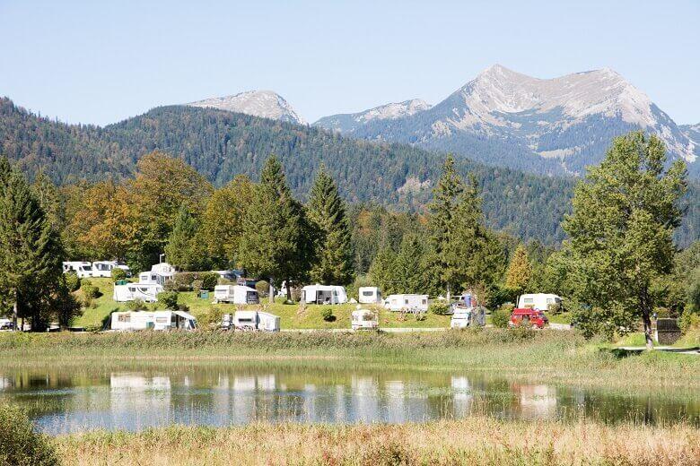 Campingplatz Tennessee in den Alpen