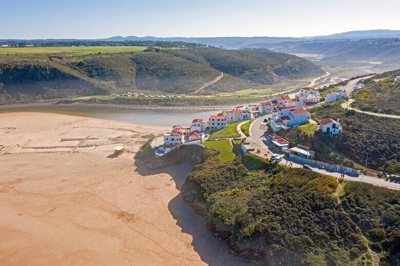 Odeceixe an der Westküste der Algarve