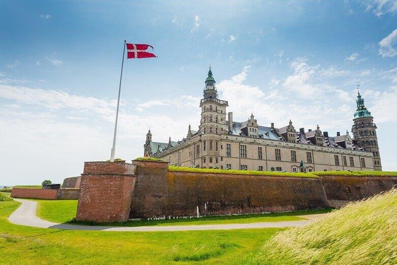 Schloss Kronborg in Dänemark