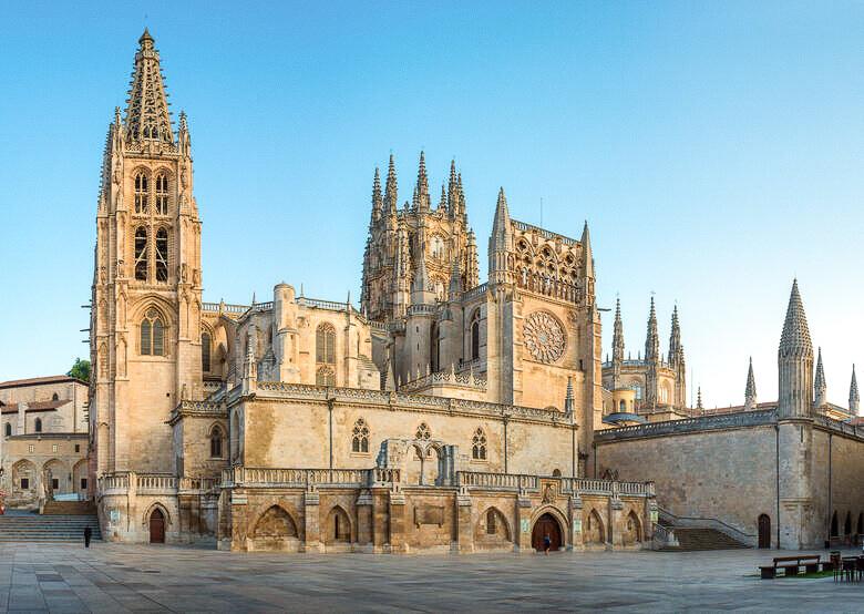 ghotische Kathedrale von Burgos in Spanien